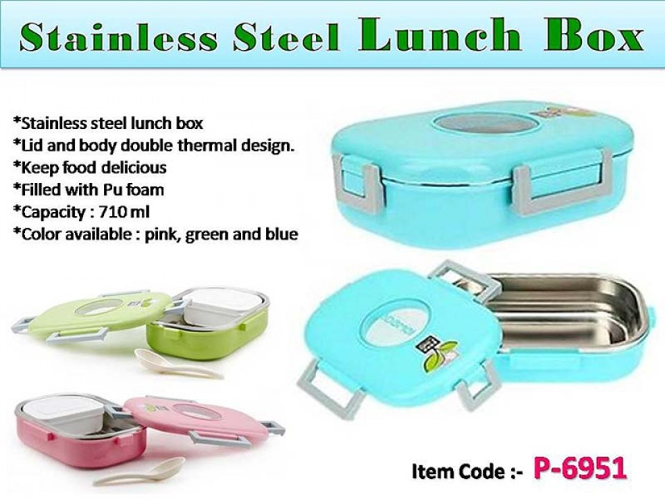 Insulated Steel Lunch Box Slim Corporate Gifts In Price Range Rs 401