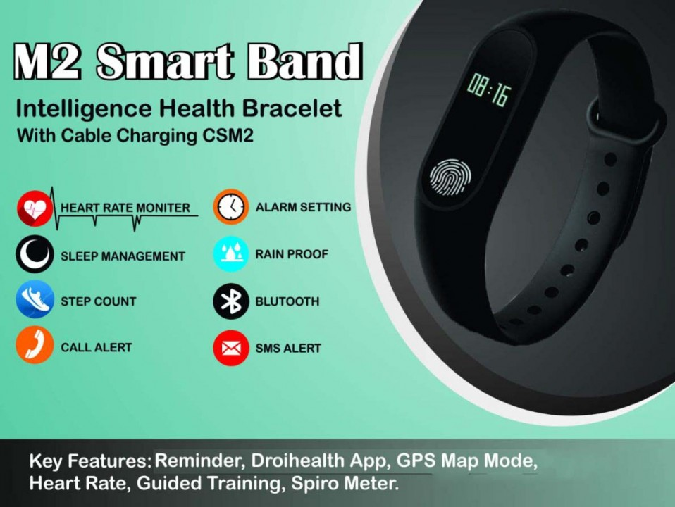 M2 Smart Band Corporate Gifts in price range Rs 501-1000 Corporate
